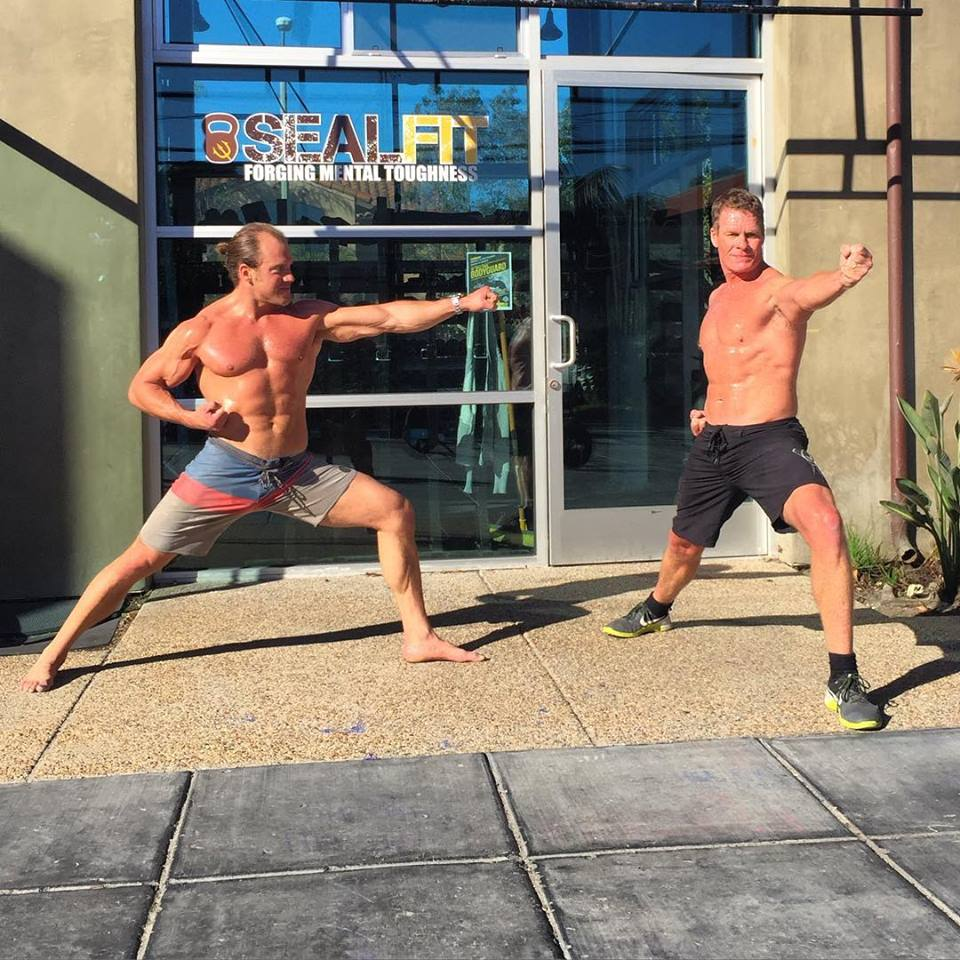 Yoga Or Crossfit Trainer And Bodybuilders With Cool